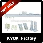 KYOK double curtain rod & curtain rod accessories factory, aluminium curtain track rail