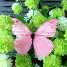 Metal wall lifelike decoration butterfly