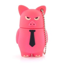 Lovely pig usb flash,pvc flash drive usb