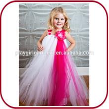2015 wholesales lace girls' wedding child dress PGGD-0350