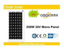 Powerful 250w solar panel