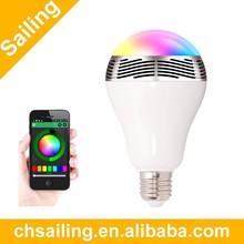 2015 Trending bluetooth speaker led light Smart bulb promotion Gift