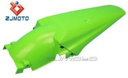 ZJ-104GN Green ZJMOTO motorcycle fairings ABS Plastic Universal Custom Supermoto Mudguards Rear Fender fit for XR 250 R XR 400 R