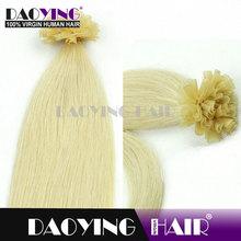 blonde hair bun pieces Bleach White Blonde (#613)U TIP hair, blonde hair bun pieces