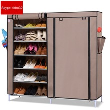 Fabric portable rack for shoes, fashion style shoe racks for women and men (FH-CM0510 )