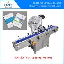 flat surface name labeling sticker machine