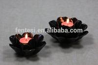 Unique Ceramic Lotus Flower Shaped Custom Votive Candle Holder