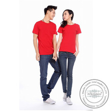 100 grams hot sale spandex/polyester promotion cheap t shirts no brand