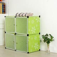 Whole green color wardrobe children wardrobe cabinets medical plastic cabinet FH-AL0016-4
