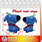 New musical moving plush dog toy for Christmas,sleeping plush soft dog