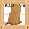 2015 venda quente FSC & SA8000 mesa de madeira sólida imagens organizador, Titular arquivo com fabricados venda