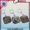 Made in china cheap metal zinc alloy musical gifts keychain