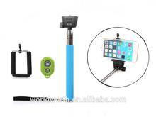 Hot sell selfie stick extendable hand held monopod Monopod kingwon cable take pole bluetooth selfie stick