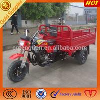 Three wheel cargo motorcycle triporteur