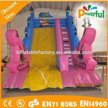 2015 cheap entertainment lake slides,inflatable water slides wholesale