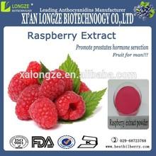 Super Sexual performance enchancer fruit chinese Raspberry extract powder anthocyanidins 10% /Raspberry ketone 15%