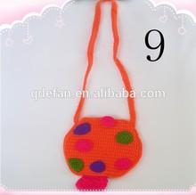 Baby Girls Crochet knitted handmade Bags Cotton Shoulder bag