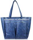 2014 fashion design leather women's genuine PU shoulder bag