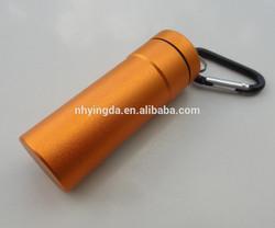 small round plastic case