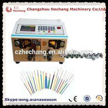 chicote de fiação automotiva de madeira grandes rolos de cabos para a venda do carro elétrico cabo de corte e descascamento máquina china suppiler