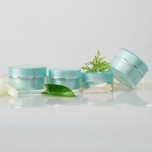 Hot sale small cream plastic sample jars , mini cosmetic sample jars plastic , plastic 5g 10g cosmetic sample containers