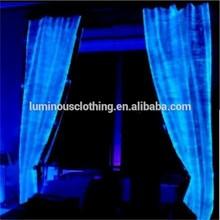 Fashion LED glow fabric christmas latest curtain fashion designs wholesale