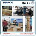 Automática de alta qualidade de torno cnc madeira máquinas-ferramentas cnc1503 para taco de beisebol pernas, taco de beisebol, baluster