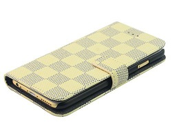 flip PU leather case for iphone 6 plus,for iphone 6 plus folio PU leather wallet case