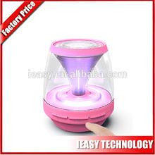 New disign pumpkin speaker led bluetooth speaker connector power-pack speaker fm with LED flash built in battery