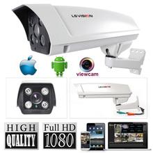 LS VISION cctv full hd onvif 2mp ip poe ir dome ip/network camera &p2p