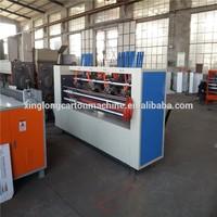 Corrugated paperboard thin blade slitter scorer machinery