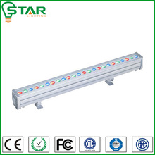 outdoor decorative red/blue.green ip65 3 in 1 rgb led wall washer