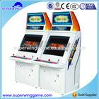 2015 Arcade 2 players slot machine video prize game machines hot sale video game machines