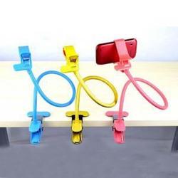 PE coat flexible funny cell phone holder for desk