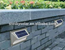 Waterproof Amber Solar Step Led Lights 12V Manufacturer