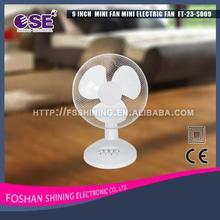 Professional cheap electric mini table/desk fan mesh grill mini desk fan minifan for wholesales FT-23-S009