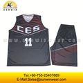 reversible sublimada camisetas de baloncesto