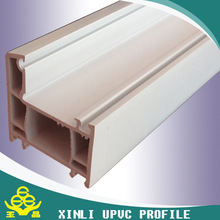 High quality low price 65 series pvc/upvc profiles for doors&windows