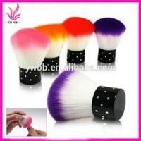 Hot Sell Nail Art Dust Remover Brush Cleaner Acrylic UV Gel Rhinestones Makeup Brush Tool