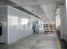Woodworking spray booth/Wood paint booth/Furniture finishing room