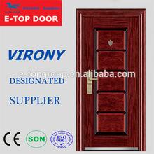 E-TOP DOOR nigeria Virony door factory and packing pictures