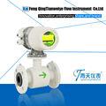 caudalímetro electromagnético de alcantarillado o agua sucia