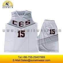White basketball tops,Best quality basketball jersey,wholesale basketball sportswear