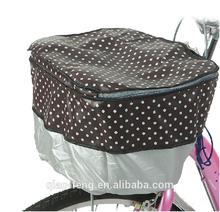 dong guan cheap nylon bicycle basket cover