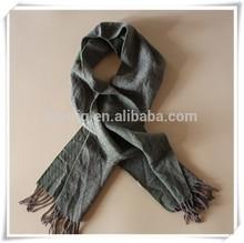Army green cheap kashmir pashmina plain cashmere scarf shawls