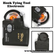 Electronic fishing hook tier