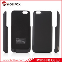 Wholesale Holifox new issued 7000mah external power pack case for iphone 6 with USB output port