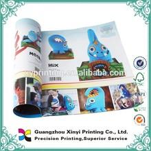 Coloring printing custom fashion journals /magazines