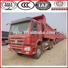 SINOTRUK heavy loading 6X4 dump truck howo truck price