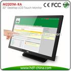 "22"" Desktop LCD Resistive Touch Screen Technology"